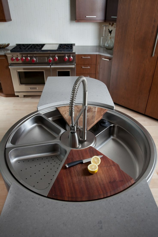 modern kitchen set up kitchen sink sink kitchen worktop