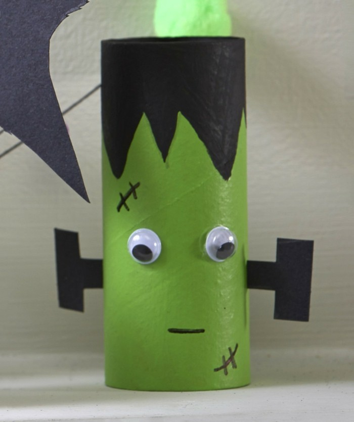 diy ideas deco ideas tinker with children frankenstein