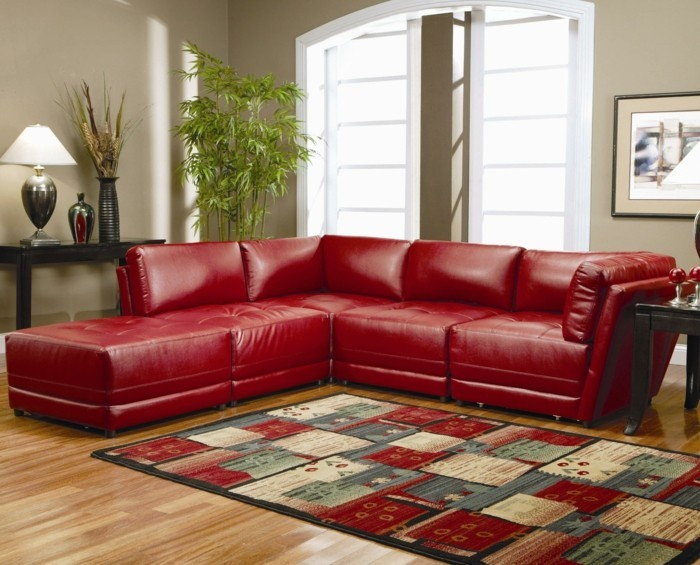 brown leather sofa in scene 6