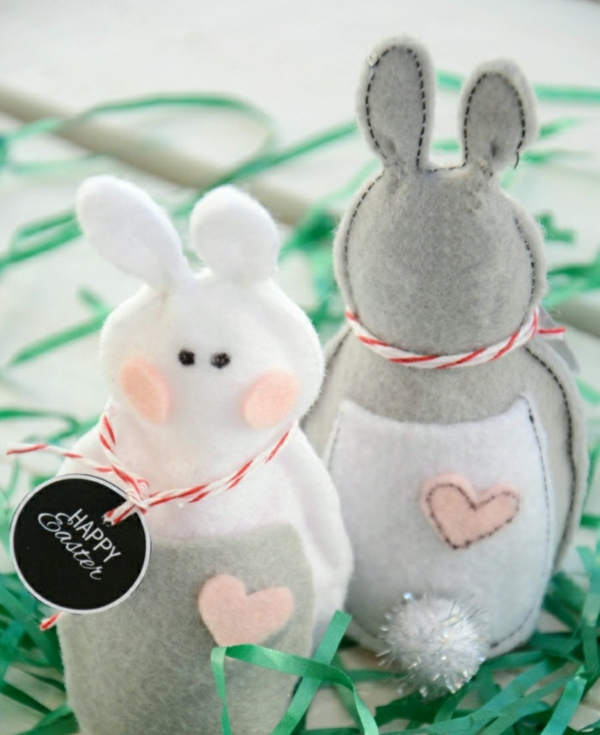 decorating easter easter bunny sewing shöne deco ideas
