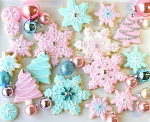 shabby chic deco itself make cookies baking christmas decoration