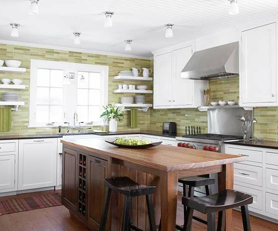 color ideas for kitchen green fresh kitchen back wall wallpaper
