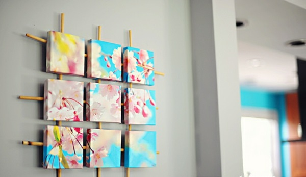 Customize your own canvas pictures diy branches