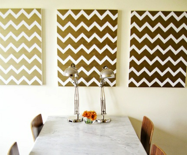 Design your own canvas diy dining room