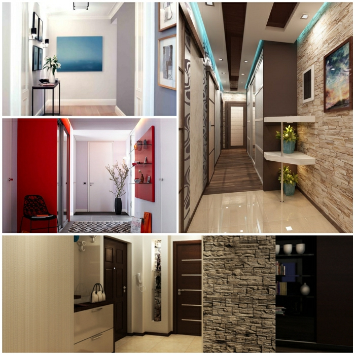 Design the corridor - impressive furnishing ideas for the ...