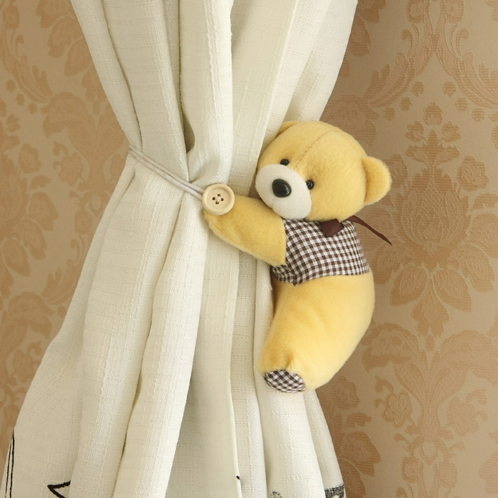 curtain clamp curtains accessories curtain teddybear