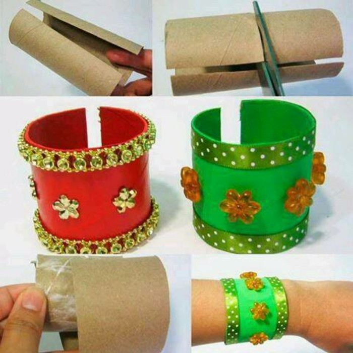 DIY ideas decorating ideas with children's bracelet