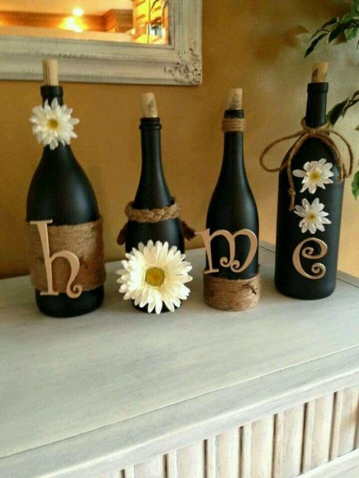diy ideas bottles decorate deco ideas