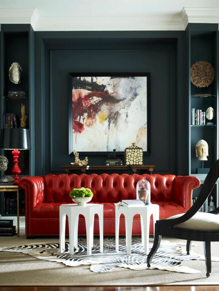 furnishing ideas living room red sofa sofa red