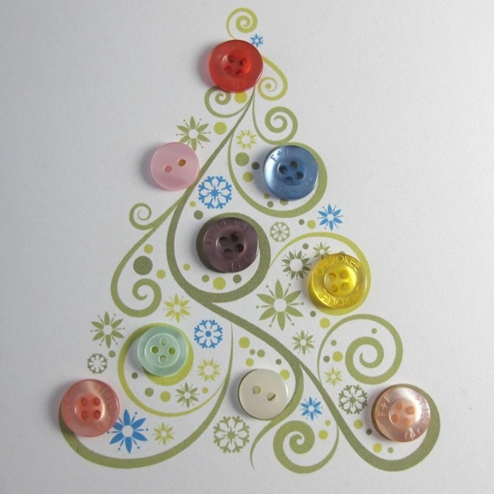 tinker with buttons diy ideas deco ideas mirror tree