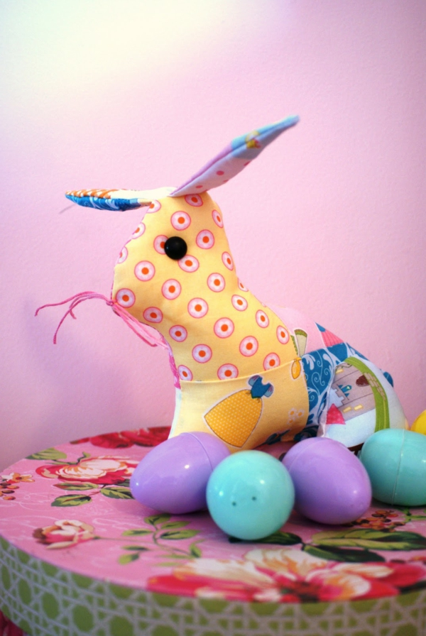 deco ideas easter easter bunny sew patchwork