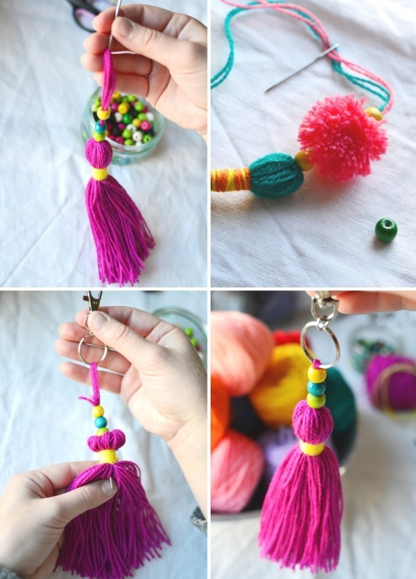 Complete the decoration with Pom Poms