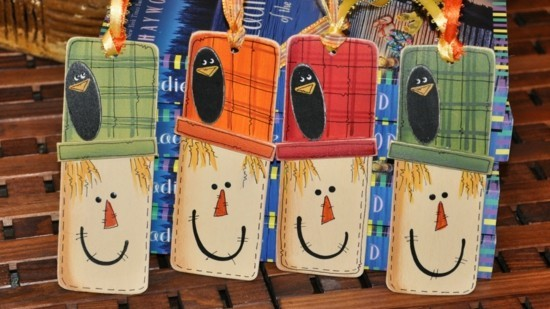 Laughing and sad face bookmark tinker
