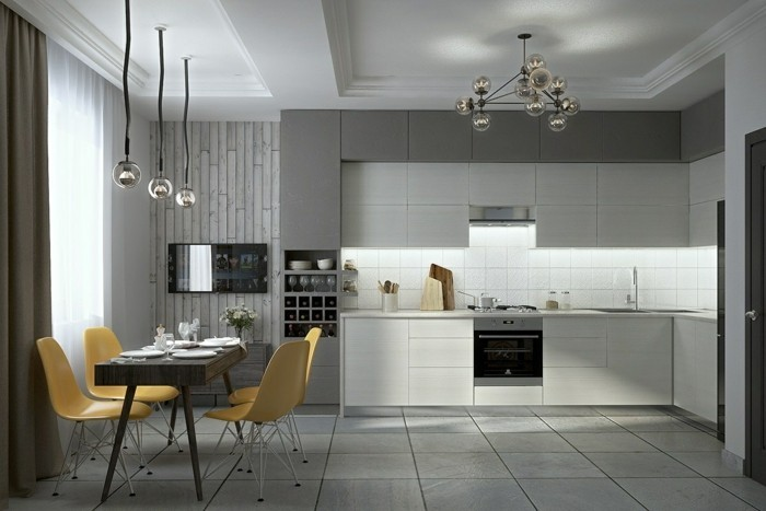 colors and nuances of modern design