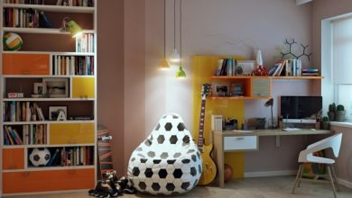 Photo of Nursery Furniture: Football Designs