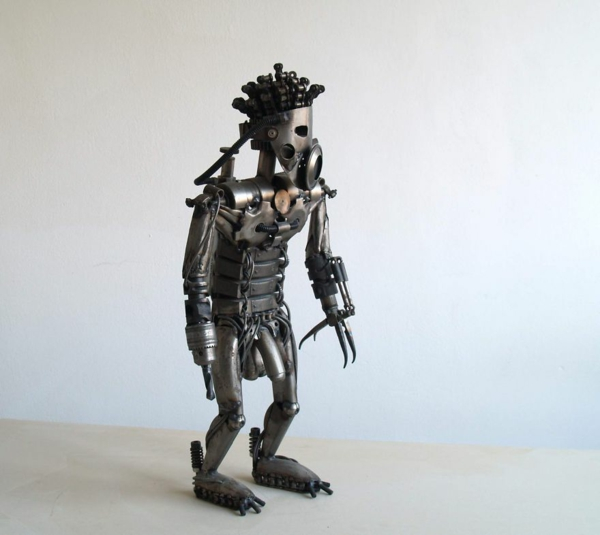 used motorcycle parts robot