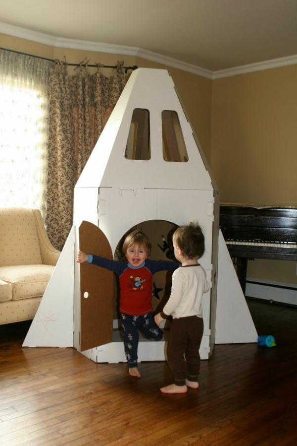 cardboard playhouse for children nursery decor