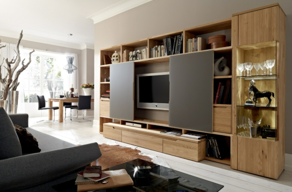 furnishing of the living room wall ideas