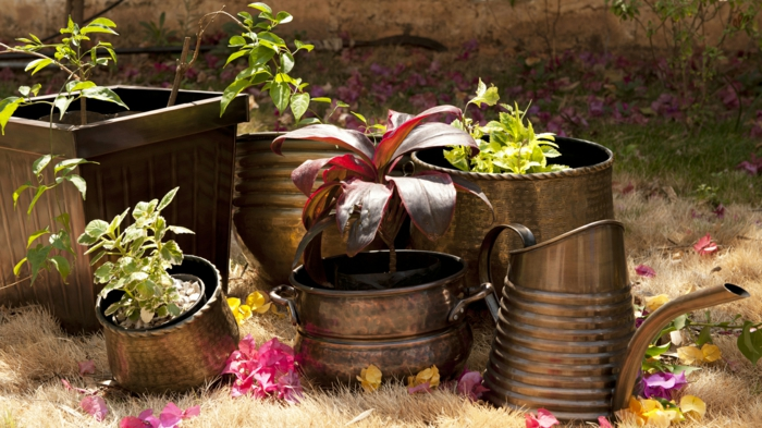 garden ideas deco vintage garden accessories outdoor area design