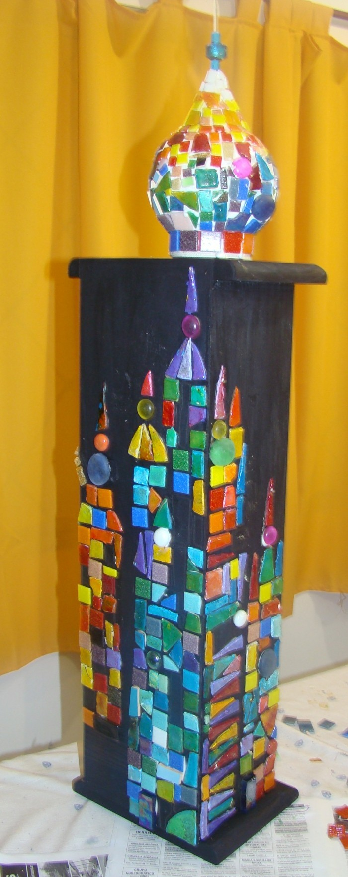 recycling bastelin with cds upcycling ideas wall deco ideas make mosaic itself