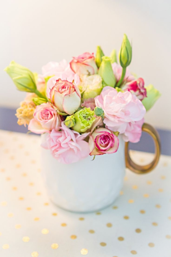 deco flowers teacup flowers decoys diy