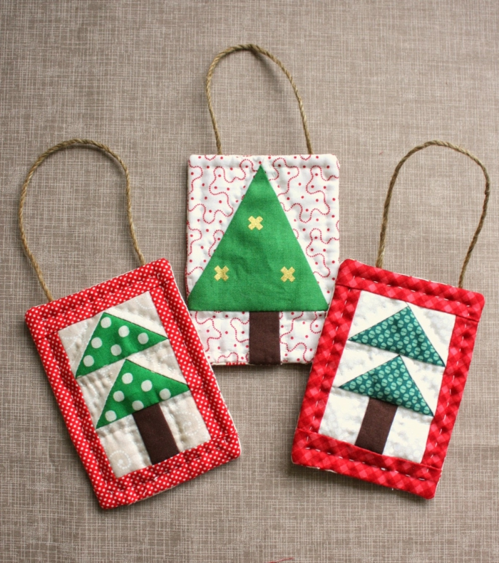 christmas craft bags yourself sew colored funny