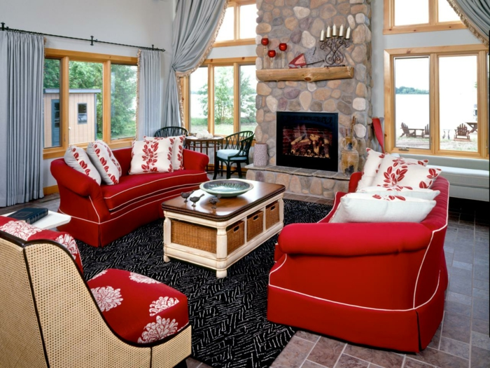 red sofa sofa red furnishing ideas