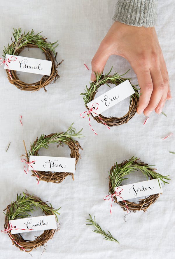 wedding decoration name card