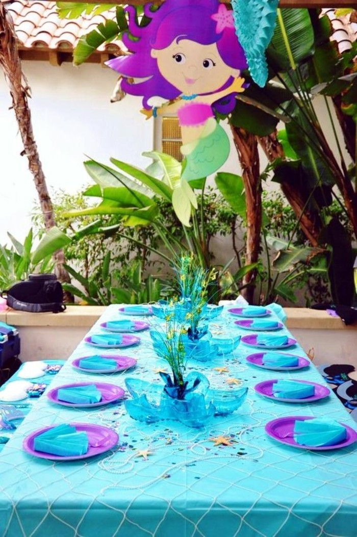 children's party birthday table decoration ideas