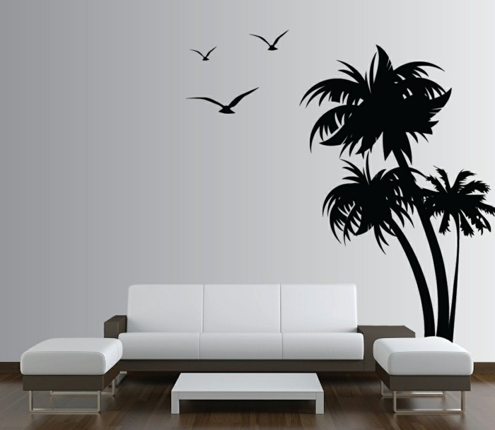 wall decals tree black wall decal white living room furniture