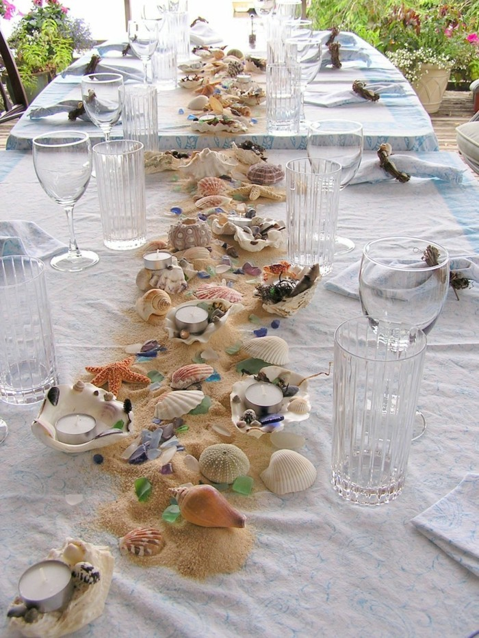 table decoration yourself make summer party decoration