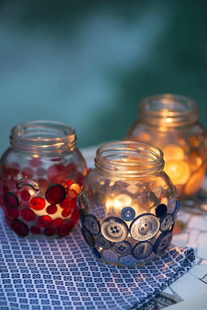 diy ideas deco ideas mirror buttons