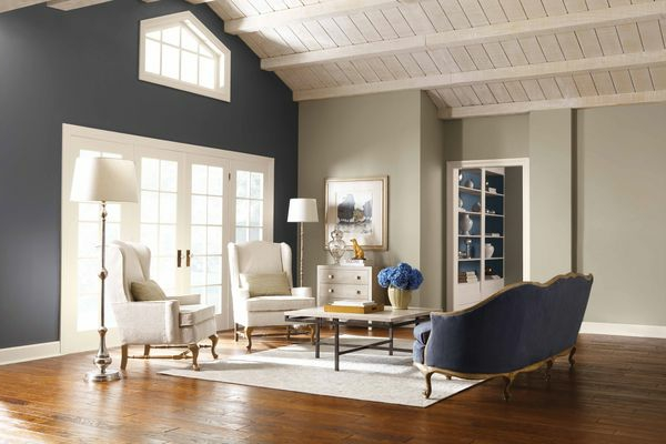 wall colors combinations gray beige