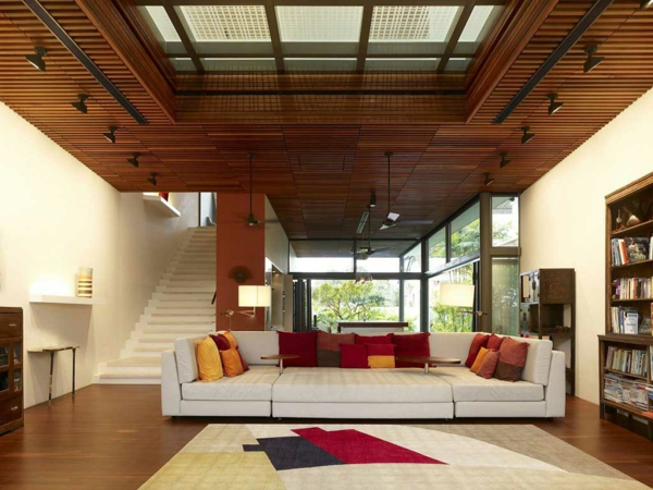 wooden ceiling panels deco panel wood living room ideas
