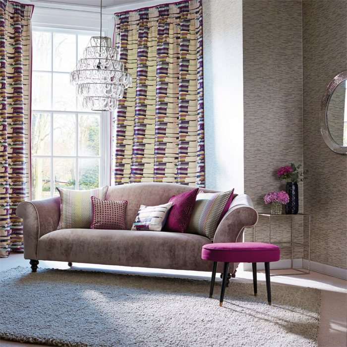 Curtain fabrics drapery curtains synthetic fiber home textile crystal chandelier carpet sofa
