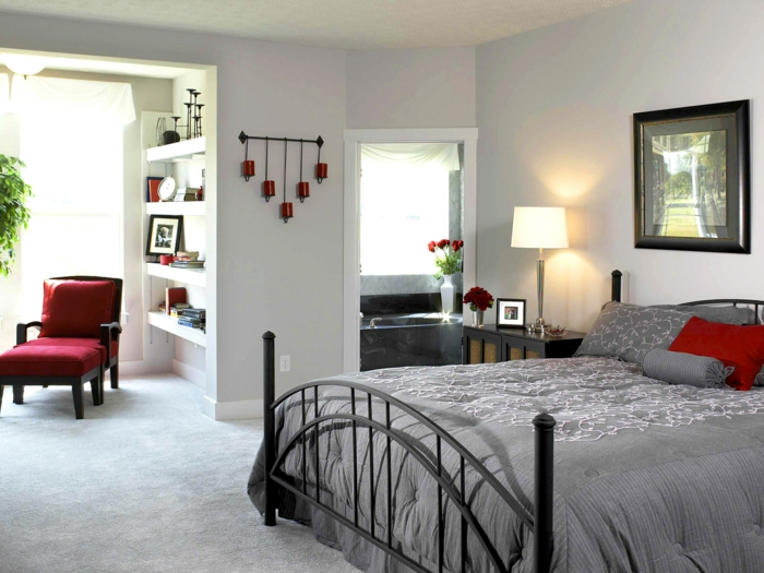 bedroom decorate accents set flowers