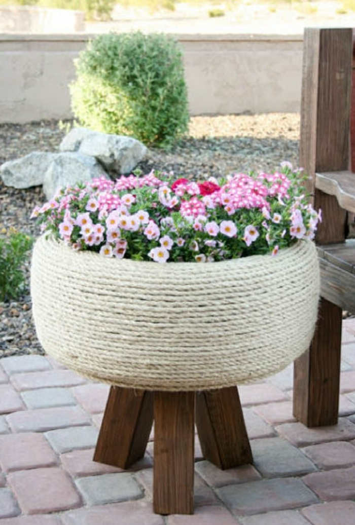 garden tips beautiful garden ideas plant container car tires