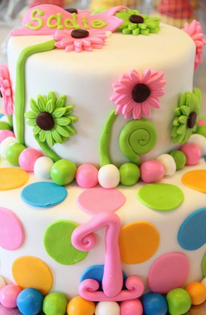 cake decorating birthday cake with fondant decorate colored and funny