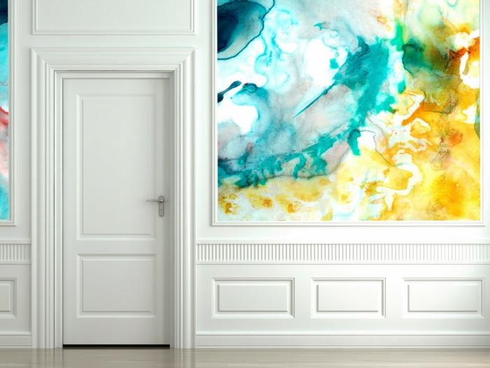 wall art and wall colors ideas wall decoration