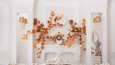 Photo of Decorate the mantelpiece and make it an eye-catcher