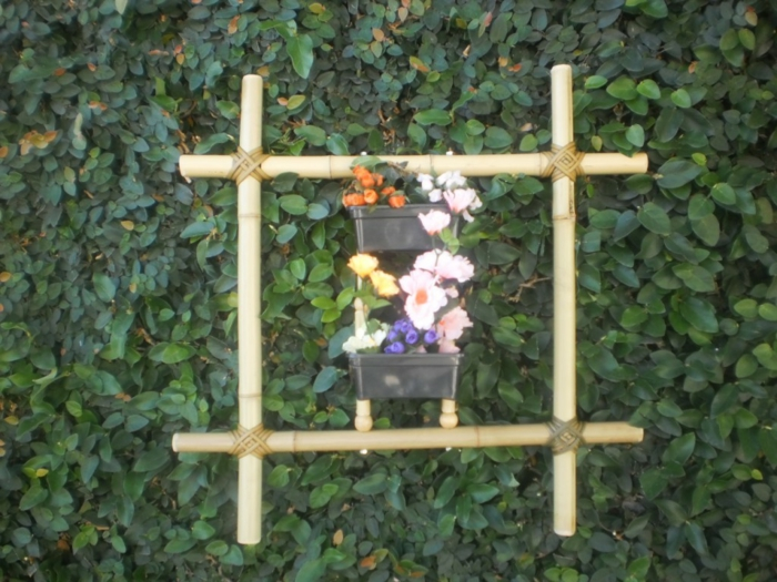 decoration garden deco wood bamboo deco
