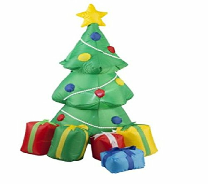 Christmas tree artificially artificial Christmas tree test inflatable