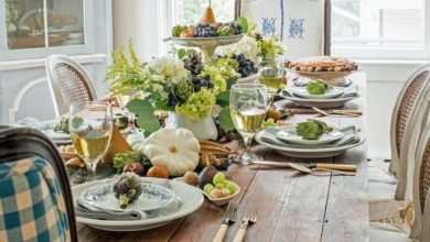 Photo of Table decoration in autumn – 51 suggestions for an autumnal table