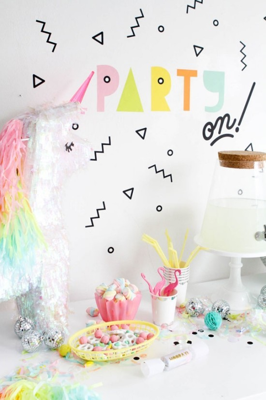 wall decoration ideas party wall stickers