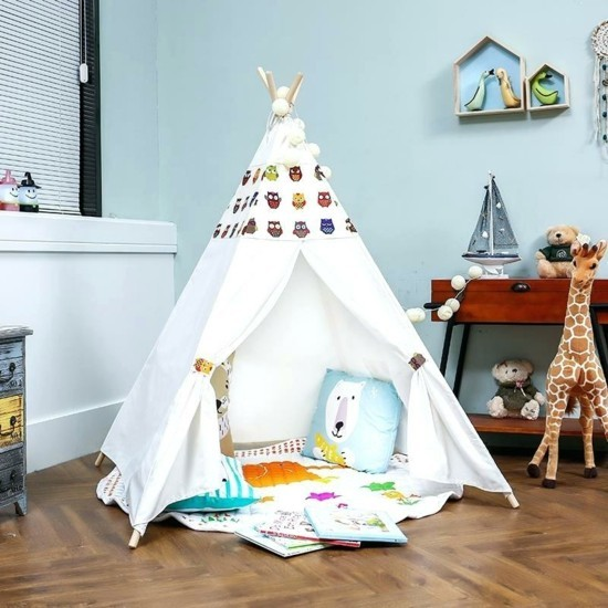 To build deco ideas for the children's room with tipi tent yourself