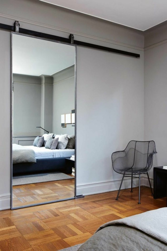 movable mirror wall