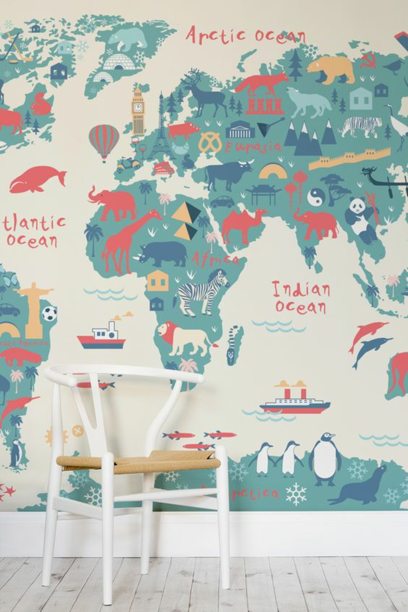 Pattern wallpaper wallpapers for nursery world