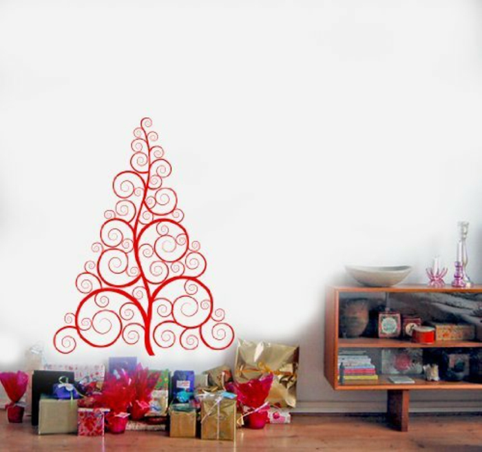 christmas tree artificially artificial christmas tree test by wall ornamenierung