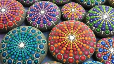Photo of Paint stones: 40 ideas for original crafts with stones