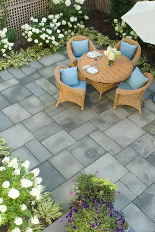frost-resistant terrace tiles terrace lay tiles frost-proof